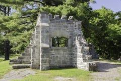 MacKenzie King Estate-ruïnes Royalty-vrije Stock Afbeeldingen