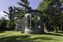 MacKenzie King Estate-ruïnes Stock Afbeeldingen