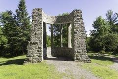 MacKenzie King Estate-ruïnes Stock Afbeelding