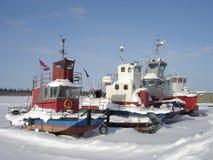 Mackenzie River Ships horizontal Stock Images