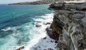 Mackenzies Point way in Sydney, Australia. Close to Bondi Beach. Bondi to Bronte Coastal Walk Stock Image