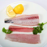 Mackerel fillets Royalty Free Stock Photography