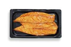 Mackerel fillets Royalty Free Stock Images