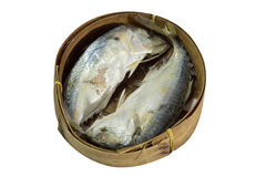 Mackerel Fish isolated on white with clipping path. Thai Mackerel Fish isolated on white with clipping path Royalty Free Stock Photo