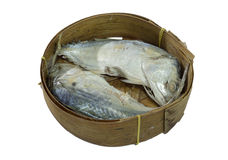 Mackerel Fish isolated on white with clipping path. Thai Mackerel Fish isolated on white with clipping path Stock Photo