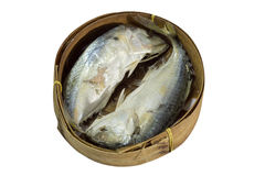 Mackerel Fish isolated on white with clipping path. Thai Mackerel Fish isolated on white with clipping path Stock Photos