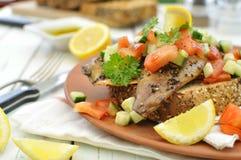 Mackerel fish Royalty Free Stock Photo
