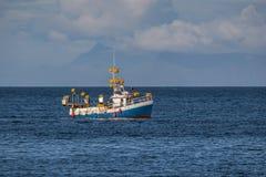Mackerel Fishing Boat Royalty Free Stock Photo