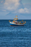 Mackerel Fishing Boat Stock Image