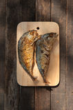 Mackerel fry. Thai Cuisine Mackerel Deep Fried Fish Royalty Free Stock Image