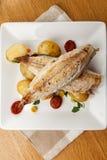 Mackerel meal Royalty Free Stock Photos