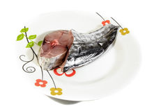 Mackerel meat fish Royalty Free Stock Image