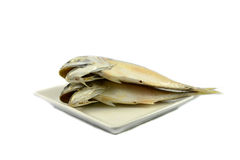Mackerel on plate Royalty Free Stock Photography