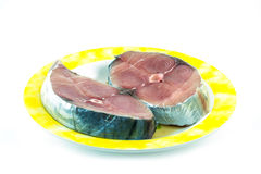 Mackerel sliced Stock Images