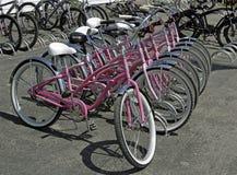 Mackinac Island, Michigan ,, Bikes, Bikes, Bikes Stock Image