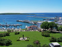 Mackinac海岛 库存照片