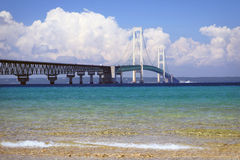 Mackinac Brücke Lizenzfreie Stockbilder