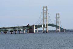 Mackinac Bridge Royalty Free Stock Image