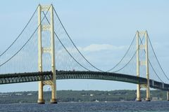 Mackinac Bridge Stock Image