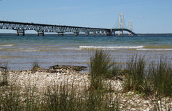 Mackinac  Bridge 2 Royalty Free Stock Photos