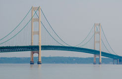 Mackinac Bridge, Mackinaw City, Michigan, USA Royalty Free Stock Images