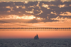 Mackinac Bridge Royalty Free Stock Image