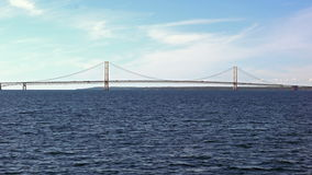 Mackinac Bridge stock video