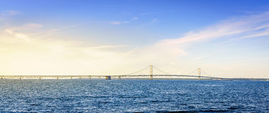 Mackinac Bridge Royalty Free Stock Photography
