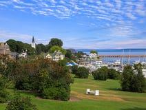 Mackinac City on Mackinac Island Royalty Free Stock Images