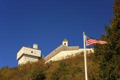 Mackinac de la fortaleza Fotografía de archivo
