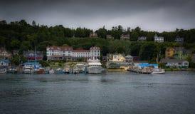 Mackinac Island Harbor in Summer