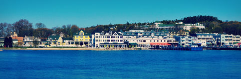 Mackinac Island Shoreline royalty free stock image