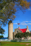 Mackinac Light House Royalty Free Stock Images