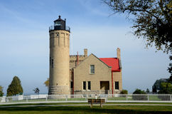 Mackinac Point Lighthouse Royalty Free Stock Photo