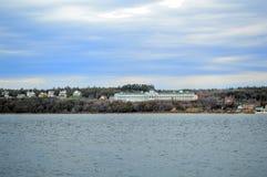 Mackinac wyspy bielu dom Zdjęcia Stock