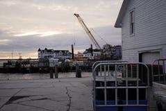 Mackinac wyspy budowa Fotografia Royalty Free