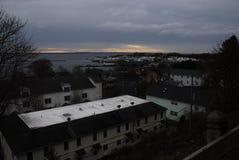 Mackinac wyspy linia horyzontu Obraz Royalty Free