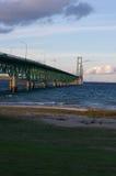 Mackinaw-Brücke Lizenzfreies Stockfoto