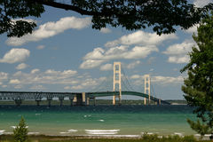 The Mackinaw Bridge Royalty Free Stock Photo