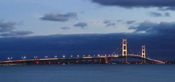 Mackinaw Bridge Royalty Free Stock Photos