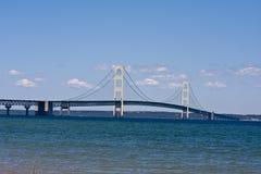 Mackinaw bridge Royalty Free Stock Photography