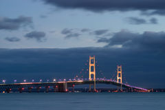 Mackinaw Bridge Stock Photo