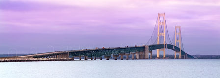 Mackinaw Bridge Royalty Free Stock Photo