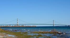 Mackinaw Bridge Stock Image