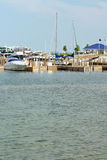 Mackinaw City Harbor Royalty Free Stock Images