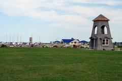 Mackinaw City Harbor Stock Images