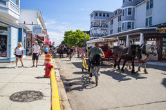 Mackinaw Island Afternoon Royalty Free Stock Images
