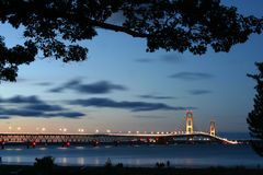 Mackinaw Straits royalty free stock photo