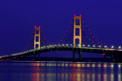 Mackinaw Twilight Royalty Free Stock Image