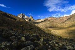Mackinder-Tal, Mount Kenya Lizenzfreies Stockbild